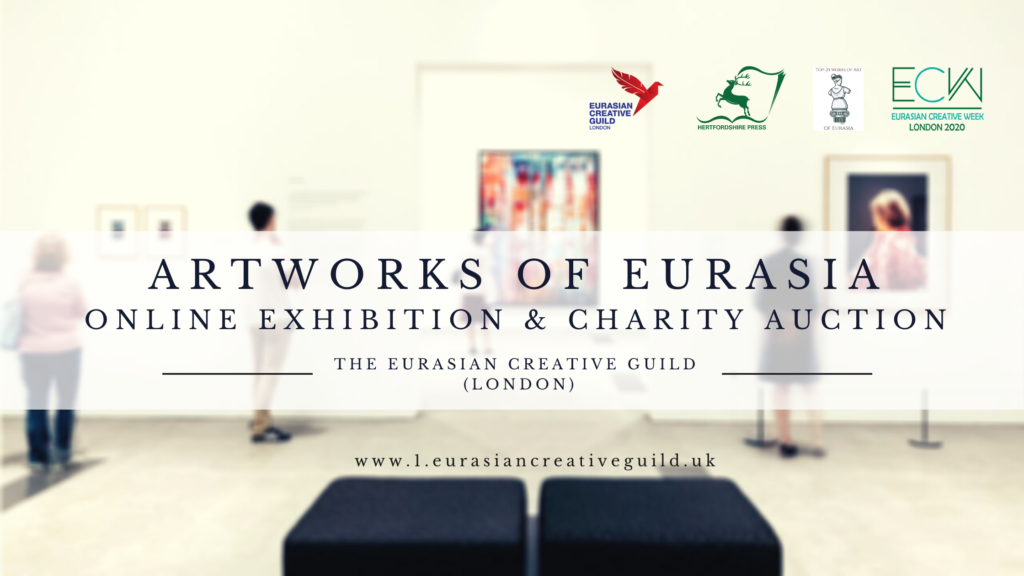 artworks of eurasia exhibition and charity auction_cover